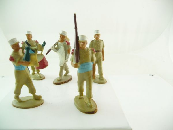 5 French soldiers foreign legion (Starlux or similar)
