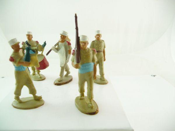 5 französische Soldaten Fremdenlegion (Starlux oder ähnlich)