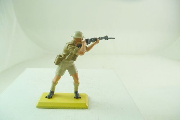 Britains Deetail English 8th Army; soldier standing firing