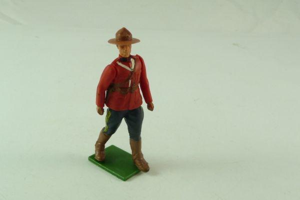 Britains Kanadischer Mountie stehend mit dunklem Hut