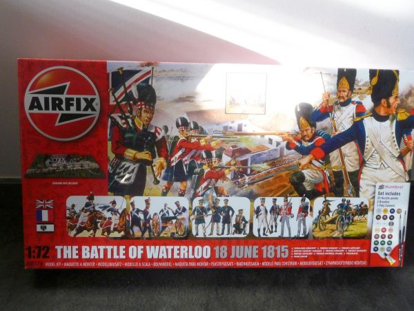 "Airfix 1:72 Large package ""The battle of Waterloo 18 June 1815"", No. A50174"