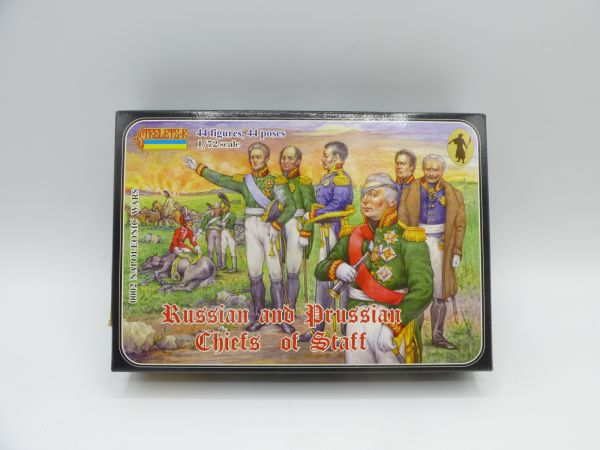 Strelets*R 1:72 Russian and Prussian Chiefs of Staff - ladenneu, Teile am Guss