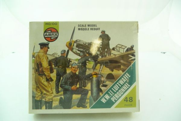 Airfix 1:72 WW II Luftwaffe Personnel, No. 01755-6 - orig. packing, shrink-wrapped