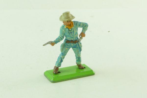 Britains Deetail Cowboy hellblau mit 2 Pistolen
