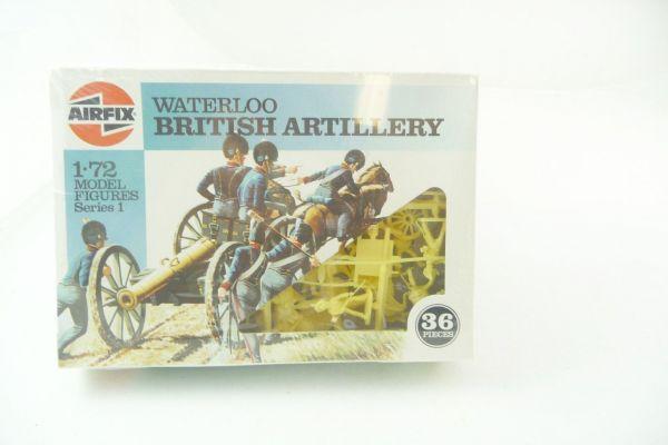 Airfix 1:72 Waterloo; British Artillery, Nr. 01746 - OVP, Figuren am Gussast