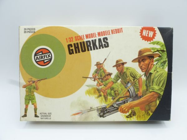 Airfix 1:32 Gurkhas, No. 51471-6 - orig. packaging, complete, very good condition
