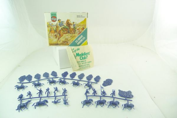 Airfix 1:72 US Cavalry (White Box) - figures on cast, incl. leaflet