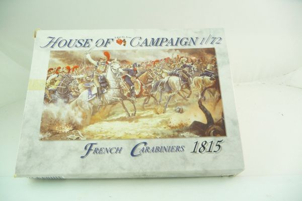 A Call to Arms 1:72 House of Campaign: French Carabiniers 1815, Nr. 53