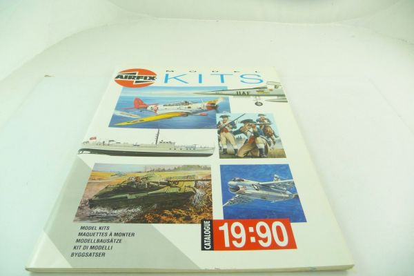 "Airfix Catalogue ""Modellbausätze"" 1990, more than 50 colourful pages - very good condition"