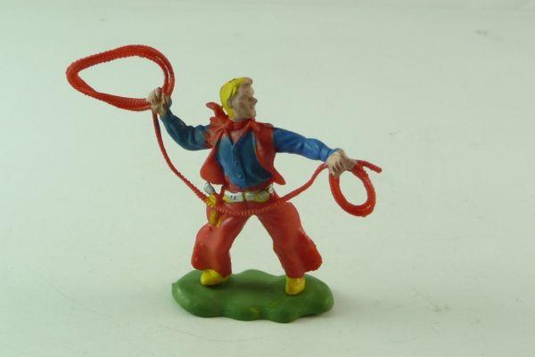 Britains / Herald Cowboy stehend mit Lasso (seltene Farbe)