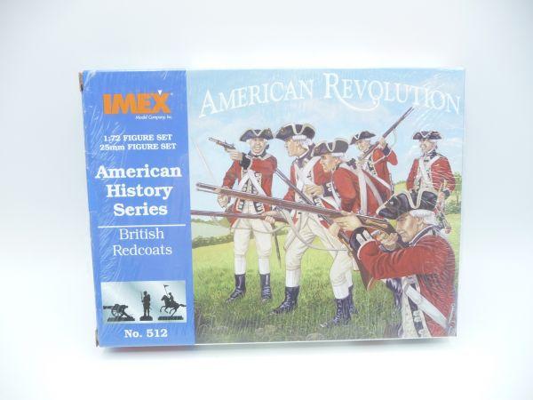 IMEX 1:72 American History: British Redcoats, Nr. 512 - OVP, eingeschweißt