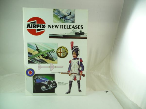 Airfix Catalogue DIN A4 of 1991 with 20 colourful illustrated pages