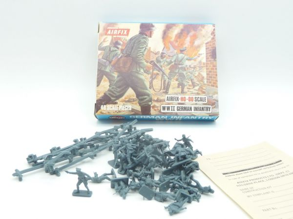 Airfix 1:72 German Infantry S5 98 - Blue Box, figures loose, complete
