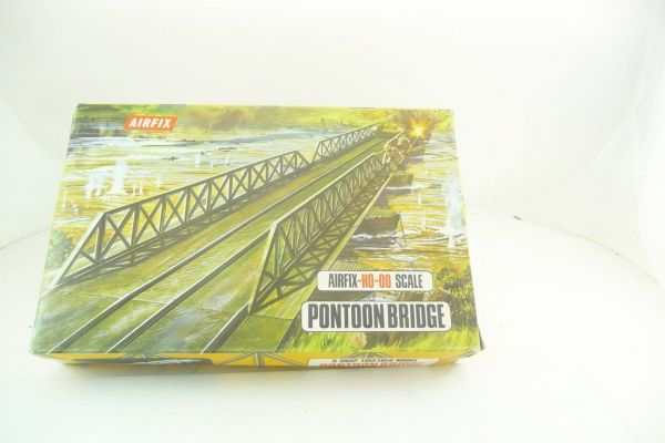 Airfix 1:72 Pontoon Bridge, Snap Together, No. 1708-198 - orig. packaging, complete