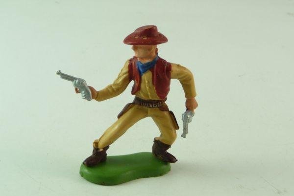 Britains / Herald Cowboy 2 Pistolen haltend