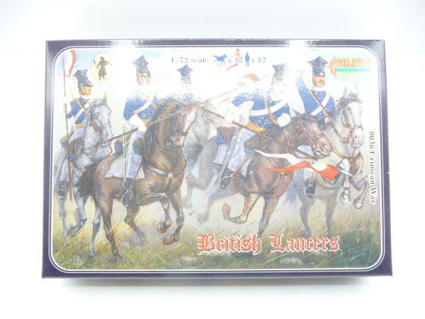 Strelets*R 1:72 Crimean War British Lancer, Nr. 0036 - OVP, Figuren am Guss