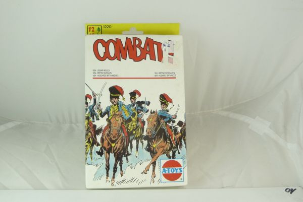A-Toys 1:72 (Italy) British Hussars, No. 1220 - figures on cast