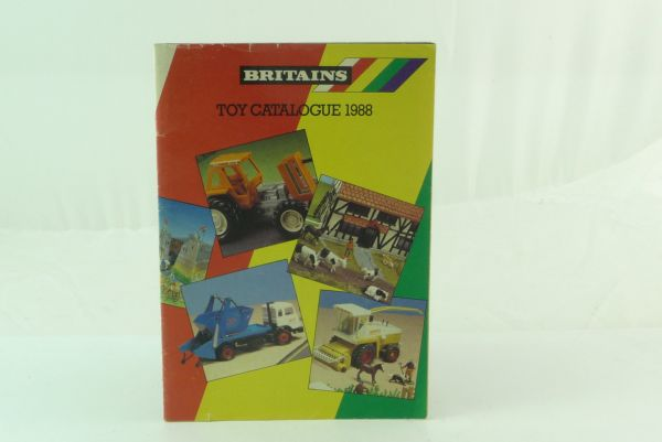 Britains 24-pages catalogue of 1988 - good condition, no markings