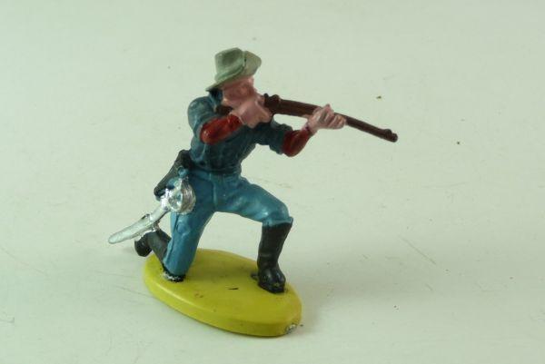 Britains 7. Kavallerie, Soldat kniend schießend (1 Fuß lose)