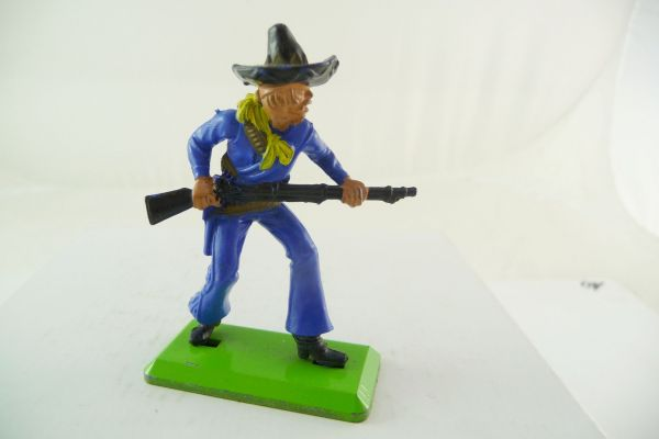 Britains Deetail Mexican going ahead with rifle, dark-blue, black hat