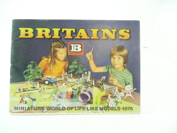 Britains 24-pages colourful catalogue from the year 1976