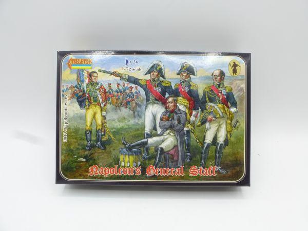 Strelets*R 1:72 Napoleons General Staff, Nr. 0013 - OVP, am Guss