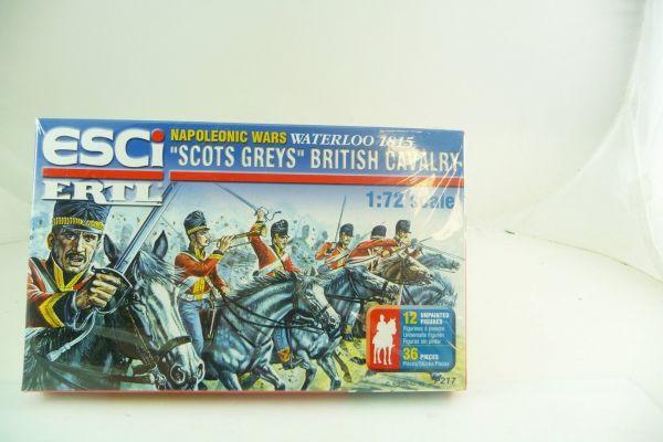 "Esci 1:72 / Ertl Nap. War Waterloo 1815 ""Scots Greys"", British Cavalry"