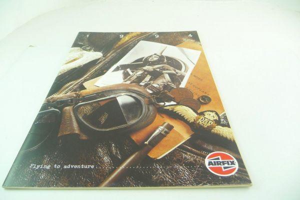 """Airfix Katalog """"Flying to Adventure"""", 1994, 20 Seiten, DIN A4 - sehr guter Zustand"""
