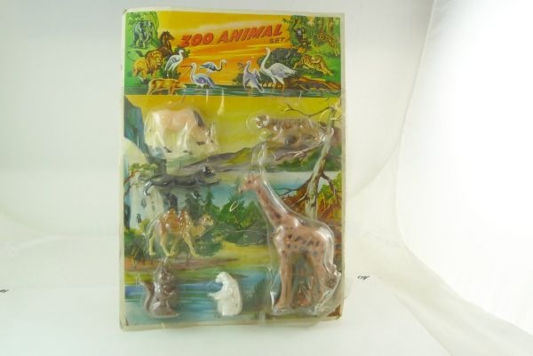7 zoo animals - orig. packing