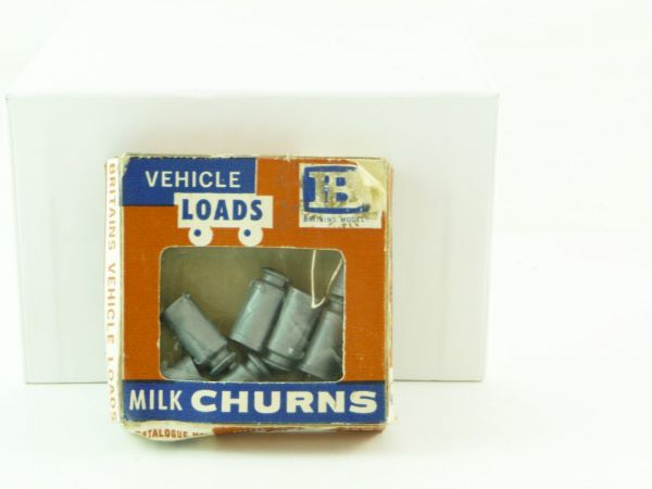 "Britains Farm Series ""Vehicle Loads"", No. 1740, Milk Churns - orig. packing"