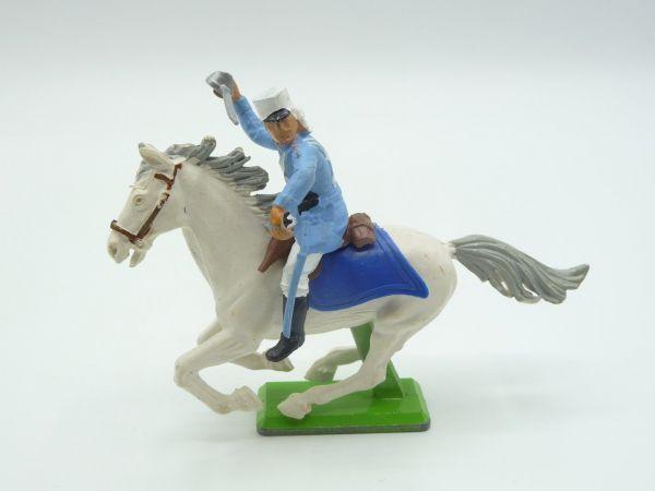 Britains Deetail Foreign legionnaire riding, sabre raised - rare position