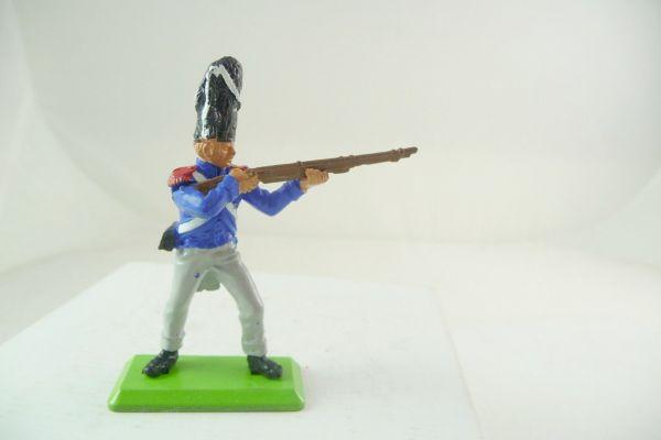 Britains Deetail Waterloo; Französischer Soldat stehend schießend (beweglicher Arm)