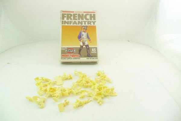 Airfix 1:72 Waterloo; French Infantry, No. 01744-6 - figures loose, complete