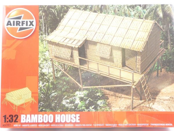 Airfix 1:32 Bamboo House, Nr. A06382 - OVP, ladenneu, Teile noch in Tüte