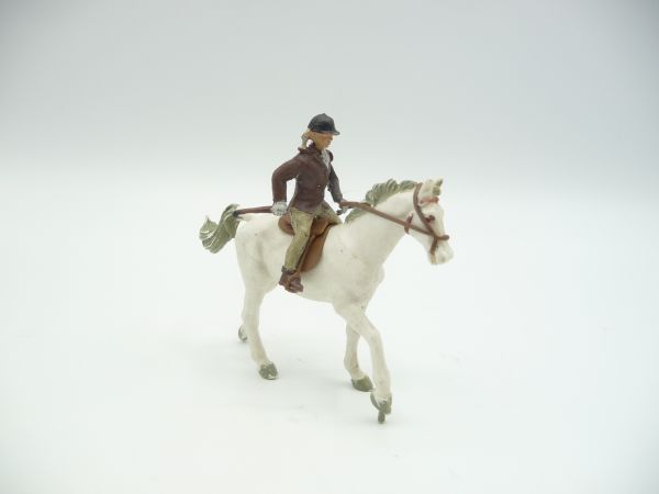 Britains Swoppets Girl on horse