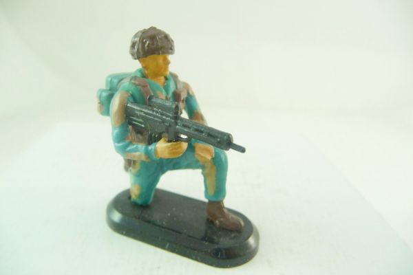 Britains Deetail Task Force Special Unit Soldat kniend mit MG
