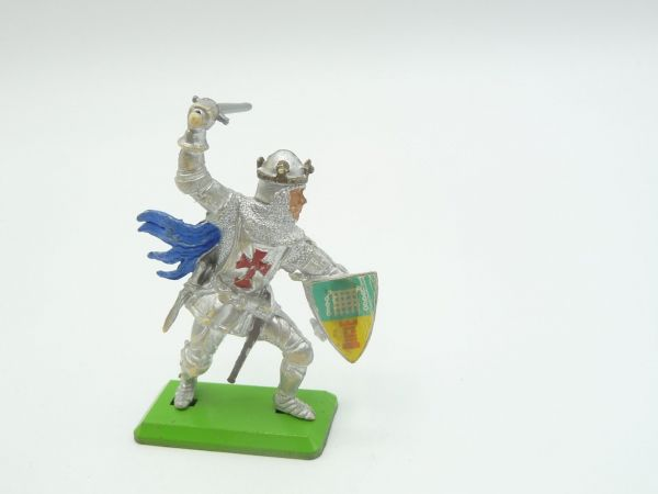 Britains Deetail Knight 1st version standing with sword + shield