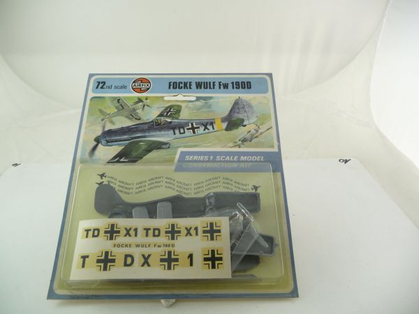 Airfix 1:72 FOCKE WULF Fw190D - Series 1, Scale Model Construction Kit