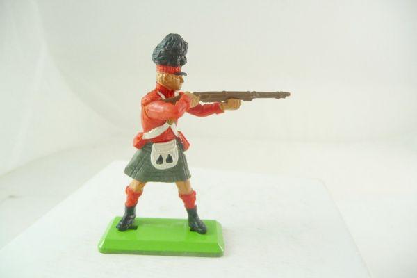 Britains Deetail Waterloo; Brite (Rotrock) stehend schießend (beweglicher Arm)