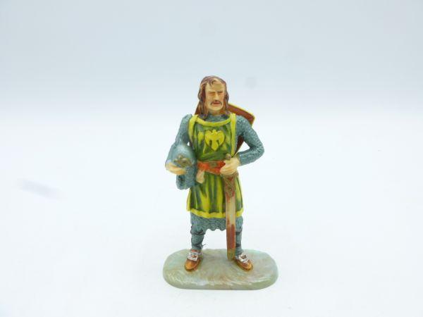 Elastolin 7 cm Ritter Gawain, Nr. 8802, Bem. 1 - tolle Figur, unbespielt