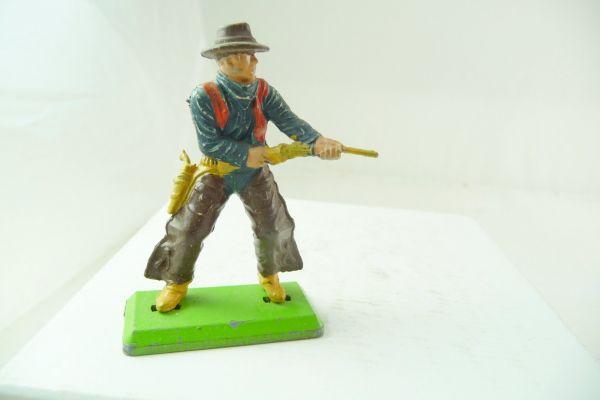 Britains Deetail Cowboy stehend, Gewehr aus der Hüfte schießend
