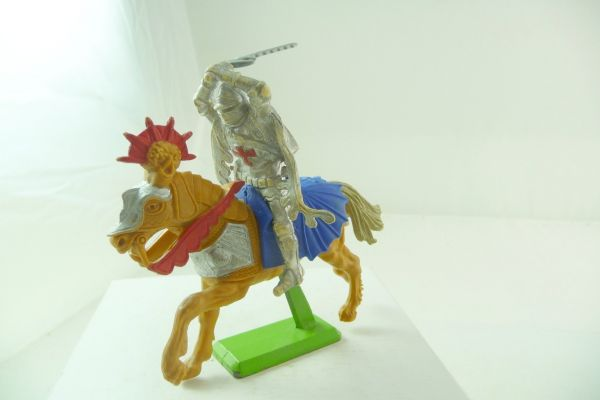Britains Deetail Knight riding, striking ambidextrous over head