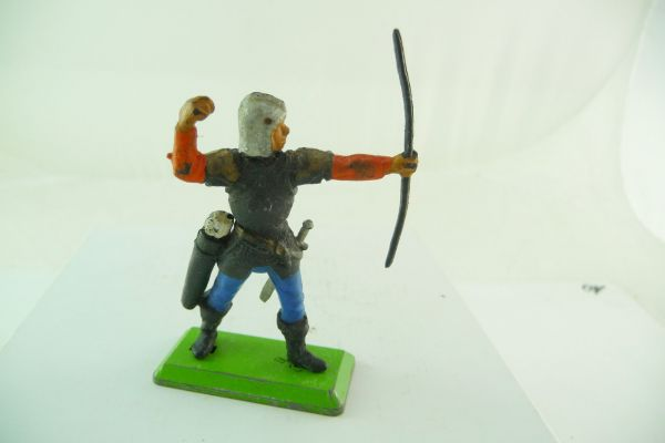 Britains Deetail Black knight, archer, taking arrow