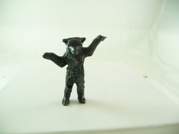 Britains Little bear standing - rare black, very early version