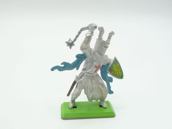 Britains Deetail Knight 1st version standing with flail + shield