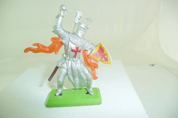 Britains Deetail Knight standing, lunging with battleaxe