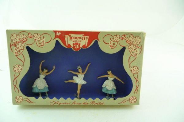Britains '/ Herald Figures from the Ballet - rare box, figures top