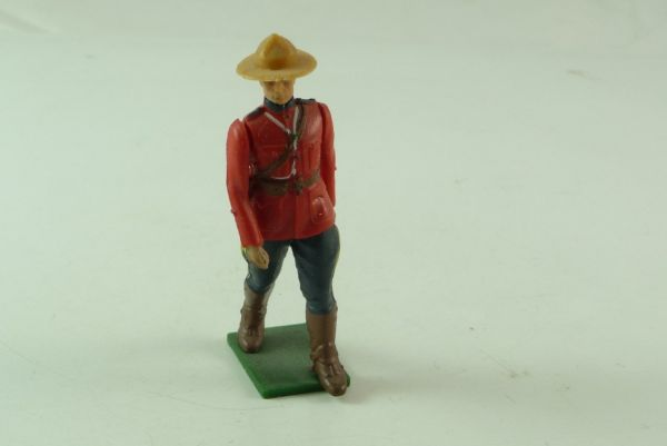 Britains Canadian Mountie on foot