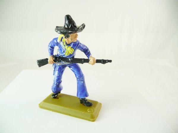 Britains Deetail Mexikaner mit Gewehr vorgehend, dunkelblau, Britains DSG