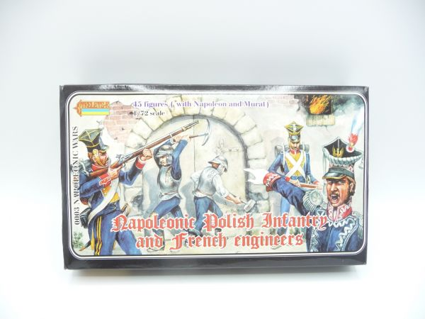 Strelets*R 1:72 Napoleonic Polish Infantry and French Engineers, Nr. 003 - OVP